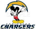 Disney San Diego Chargers iron on or sublimation  transfer (choice of 1) $3.25 USD on eBay