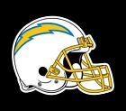 Los Angeles Chargers 2 PACK NFL Decal Sticker - You Choose Size - FREE SHIPPING $2.99 USD on eBay