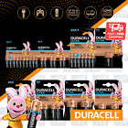 DURACELL ULTRA POWER AA AAA C D 9V Alkaline Batteries DURALOCK Longest Expiry