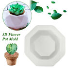 Handmade Flower Pot Mould Cake Mould Mold White Flower Pot Replacement image