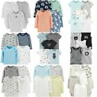 NWT Carter's Baby Boys Multi-Pack Long or Short-Sleeve Bodysuits Set