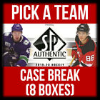 2019-20 UD SP AUTHENTIC 8 BOX(FULL CASE) BREAK *PICK A TEAM* + FREE BONUS #PAT3 $54.0 CAD on eBay
