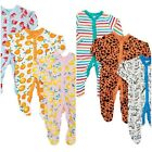 Brand New Baby Boys Girls 100% Cotton 3 Pack Babygrow Sleepsuit Playsuit