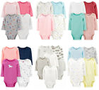 Kyпить Carters Bodysuits Baby Girls Long Sleeve Unisex Sets New на еВаy.соm