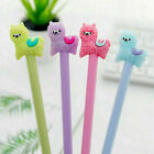 1pcs Kawaii Alpaca Black Gel Ink Roller Ball Point F2i7 K Korean Pen Kids H9s9