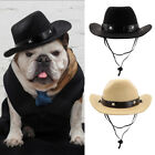 Dog Cowboy Hat Pet Costume Accessory Funny Holiday Festive Party Cosplay Hats