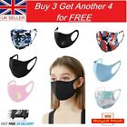 Face Mask Protective Mouth Covering Breathable Washable Reusable UK Masks <br/> ✅SEALED✅FAST DELIVERY✅FREE DELIVERY✅UK STOCK✅