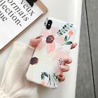 Flower Painting Case Cover Protect Phone For iPhone 11 Pro Max XR 7Plus Series