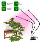 LED Grow Light Plant Growing Lamp Indoor Plants Hydroponics Timing Dimming USA