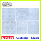 Silicone Earring Pendant Jewellery Making Mold Uv Resin Mould Craft Diy