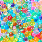 30,000 Colorful Water Gel Beads For Kids Sensory Toys, 10 Colors 2 Sizes, Water
