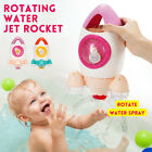 Kids Baby Rotating Water Jet Rocket Bathroom In Bath Interactive Time   @!%