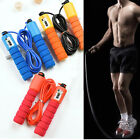 Fitness Accessories Jump Ropes Anti Slip Handle  Skip Rope Electronic Counting image
