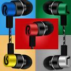Super Bass Music Headphone Headset In ear Stereo Earphone MP3 Earbuds Mic E4V3