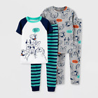 Kyпить Just One You Carters Toddler Boys 4pc Dog 100% Cotton Short Sleeve Pajama Set 5T на еВаy.соm