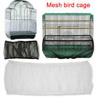 Pet Bird Cage Tidy Guard Cover Skirt Net Basket JE