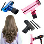 Hair Diffuser Hair Curler Dryer Drying Cap Blow Wind Curl Hair Dryer Detachable