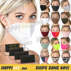 Happibee [50pcs] Face Mask🍯reusable Washable Men Women Nose Mouth Protection
