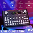 Bluetooth Live Streaming Sound Card Webcast Phone Computer Audio Voice Card