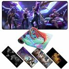 Custom large gaming mouse pad 900x400 2mm anime mousepad xl