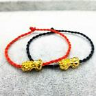 Feng Shui Weaving Rope Wealth Pi Xiu Bracelet Attract Good Top Luck Deco U6y1