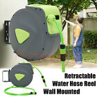 10-30m Retractable Wall Mounted Garden Hose Pipe Reel Automatic Watering Spray