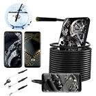 Waterproof Inspection Camera Cam Endoscope For iPhone iOS/Android Phone Car/Tube