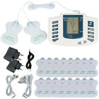 16 Pads Electric Muscle Relax Stimulator Massager Tens Pulse Acupuncture Therapy