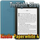 [Twilight Blue] Amazon All-new Kindle Paperwhite 4 (2018 10th gen) ebook reader