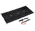 40W 18V Dual USB Solar Panel Battery Solar Cell Module Car Boat Outdoor Charger