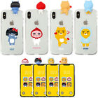 Kakao Friends Clear Bbakkom Case for Samsung Galaxy Note20 Note10 Note9 Note 8 5