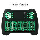 Backlit Mini Wireless Keyboard Remote control Touchpad for Android TV Box