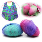 Gradient Color Wool Yarn For Coarse Needle Wool Hand-knitted Hat Scarf Crafts