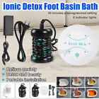 Personal Ionic Detox Foot Basin Bath Spa Cleanse Machine Array Health Care Kit