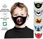 Face Mask Kids Washable Children Breathable Reusable Double Layer Protection PPE