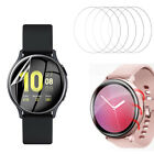 6-Pack Tempered Glass Screen Protector for Samsung Galaxy Watch Active /Active 2