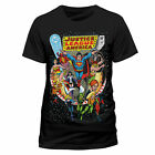 Justice League Comic Cover T-Shirt Official Licensed Tee Featuring Superman