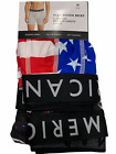 "NWT AMERICAN EAGLE 3 Pack Flex 6"" Boxer Brief Underwear Sz S-M-L-XL"