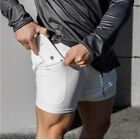 Men's Sports Training Running Bodybuilding Workout Fitness Shorts Gym Pants