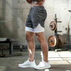 Man's Sports Training Running Bodybuilding Workout Fitness Shorts Gym Pants