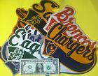 Early 1960's Oversized Emblem Patches (Pick your team) $42.0 USD on eBay
