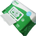 Clinell Large 200 Pack Universal Surface Medical Tool Devices Cleansing Wipes
