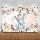 Baby Photography Background Elephant Animals Birthday Party Backdrop Prop