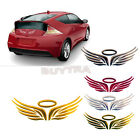 3d Angel Fairy Wings Car Auto Truck Logo Emblem Badge Decal Sticker 3 Colorhfuk