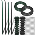 Garden Fence Posts Fence Struts Stake Chain Link Fence Span Binding Wire Line