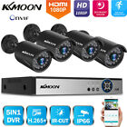 KKMOON 4/8CH 1080P DVR 2.0MP Outdoor CCTV Home Security Camera System Kit T0E0