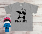 Funny Dab Life Panda Children's Kids Quality T-shirt Tee Birthday Top Gift Idea