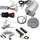 1800W 48V DC Electric Brushless Motor Kits Scooter Ebike Bike ATV Project DIY