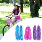 Kid Bicycle Ribbon Bike Scooter Streamers Sparkle Tassel Riband Decor F1l4 K9x5