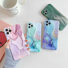 colorful marble silicone soft case cover for iphone 11 pro max xs xr 8 7 plus se